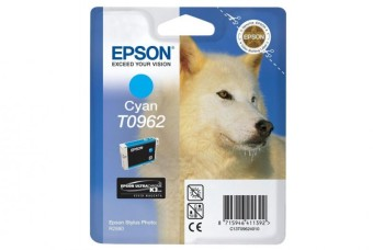 Originálna cartridge EPSON T0962 (Azúrová)