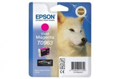 Cartridge do tiskárny Originálna cartridge EPSON T0963 (Purpurová)