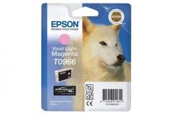 Cartridge do tiskárny Originálna cartridge EPSON T0966 (Svetlo purpurová)