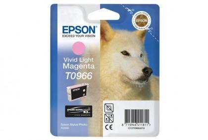 Originálna cartridge EPSON T0966 (Svetlo purpurová)