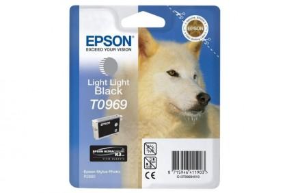 Originálna cartridge EPSON T0969 (Svetlo svetlo čierna)