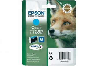 Originálna cartridge  EPSON T1282 (Azúrová)