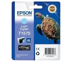 Cartridge do tiskárny Originálna cartridge  EPSON T1575 (Svetlo azúrová)
