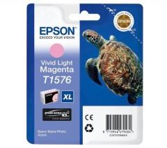 Cartridge do tiskárny Originálna cartridge  EPSON T1576 (Naživo svetlo purpurová)