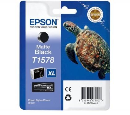 Originálna cartridge  EPSON T1578 (Matne čierna)