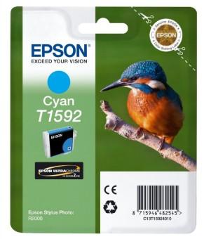 Originálna cartridge EPSON T1592 (Azúrová)