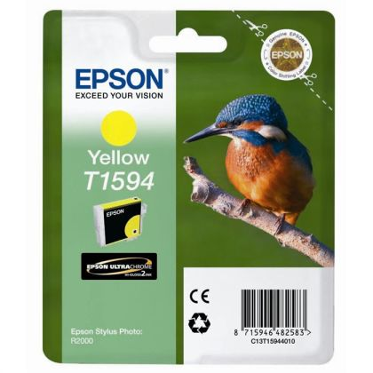Originálna cartridge EPSON T1594 (Žltá)
