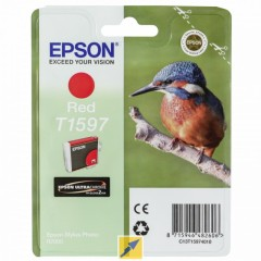 Cartridge do tiskárny Originálna cartridge EPSON T1597 (Červená)