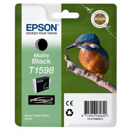 Originálna cartridge EPSON T1598 (Matne čierna)