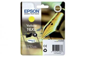 Originálna cartridge EPSON T1634 (Žltá)