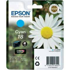 Cartridge do tiskárny Originálna cartridge EPSON T1802 (Azúrová)
