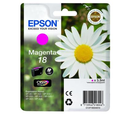 Originálna cartridge EPSON T1803 (Purpurová)