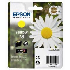 Cartridge do tiskárny Originálna cartridge EPSON T1804 (Žltá)