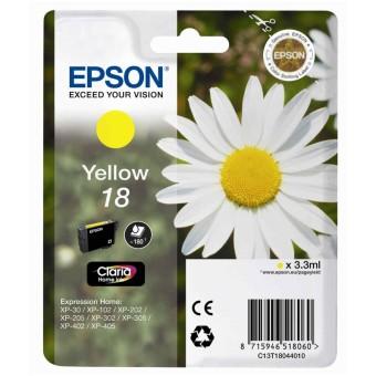 Originálna cartridge EPSON T1804 (Žltá)