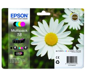Sada originálných cartridge EPSON T1806 - obsahuje T1801-T1804