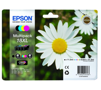 Sada originálných cartridge EPSON T1816 - obsahuje T1811-T1814