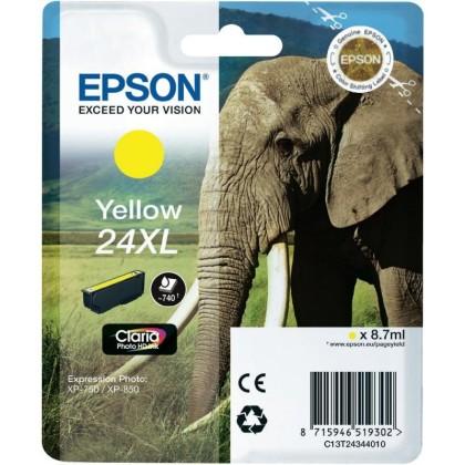 Originálna cartridge EPSON T2434 (Žltá)
