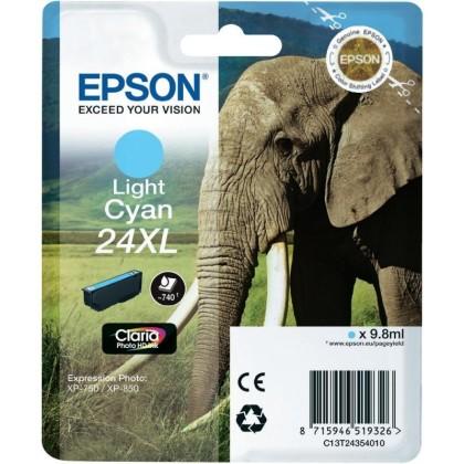 Originálna cartridge EPSON T2435 (Svetlá azúrová)