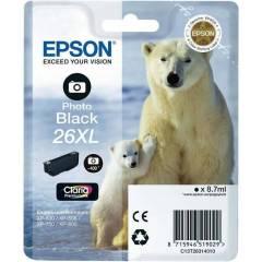 Cartridge do tiskárny Originálna cartridge EPSON T2631 (Foto čierna)