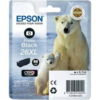 Originálna cartridge EPSON T2631 (Foto čierna)