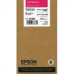 Cartridge do tiskárny Originálna cartridge Epson T6533 (Naživo purpurová)
