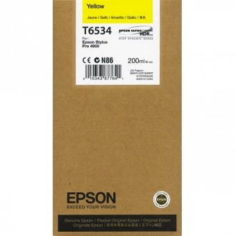 Originálna cartridge Epson T6534 (Žltá)