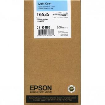 Originálna cartridge Epson T6535 (Svetlá azúrová)