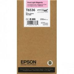 Cartridge do tiskárny Originálna cartridge Epson T6536 (Naživo svetlo purpurová)