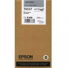 Cartridge do tiskárny Originálna cartridge Epson T6537 (Svetle čierna)