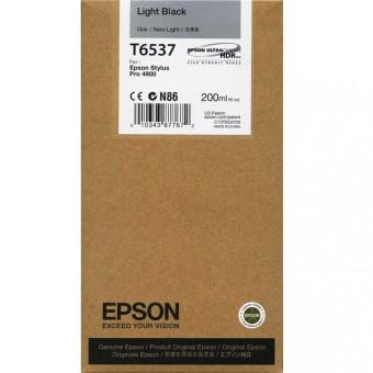 Originálna cartridge Epson T6537 (Svetle čierna)