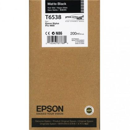 Originálna cartridge Epson T6538 (Matne čierna)