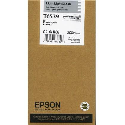 Originálna cartridge Epson T6539 (Svetle svetlo čierna)