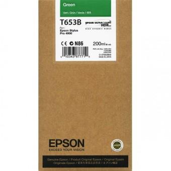 Originálna cartridge Epson T653B (Zelená)