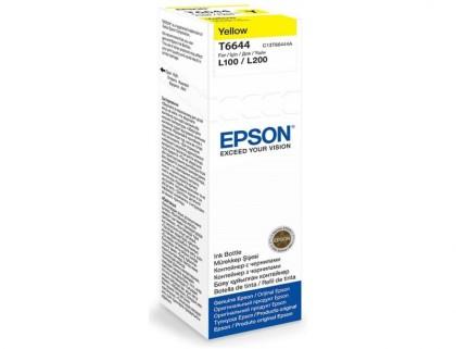 Originálna fľaša Epson T6644 (Žltá)