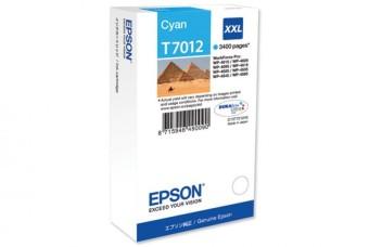 Originálna cartridge  EPSON T7012 XXL (Azúrová)