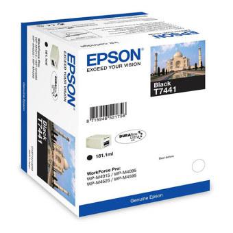 Originálna fľaša s atramentom Epson T7441 (Čierná)