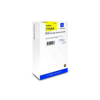 Originálna cartridge Epson T7554 (Žltá)