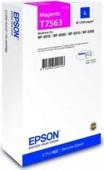 Cartridge do tiskárny Originálna cartridge Epson T7563 (Purpurová)