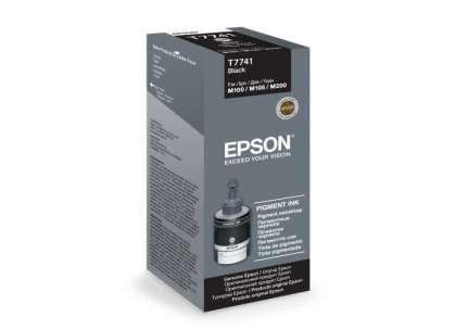 Originálna fľaša Epson T7741 (Čierna)