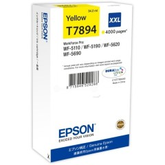 Cartridge do tiskárny Originálna cartridge EPSON T7894 (Žltá)