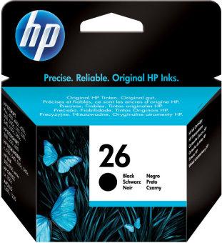 Originálna cartridge HP č. 26 (51626A) (Čierna)