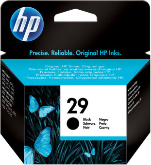 Originálna cartridge HP č. 29 (51629AE) (Čierna)
