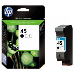 Cartridge do tiskárny Originálna cartridge HP č. 45 (51645AE) (Čierna)