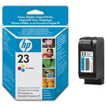 Originálna cartridge HP č. 23 (C1823D) (Farebná)