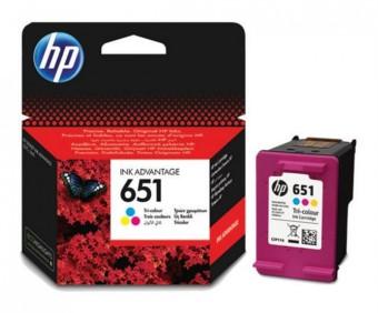 Originálna cartridge HP č. 651 (C2P11AE) (Farevná)