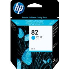 Cartridge do tiskárny Originálna cartridge HP č. 82 XL (C4911A) (Azúrová)