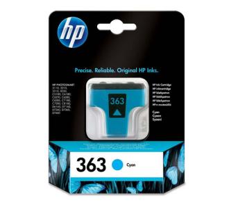 Originálna cartridge HP č. 363 (C8771EE) (Azúrová)