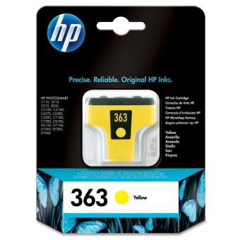 Originálna cartridge HP č. 363 (C8773EE) (Žltá)