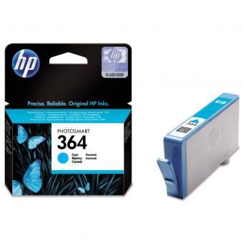 Originálna cartridge HP č. 364C (CB318EE) (Azúrová)