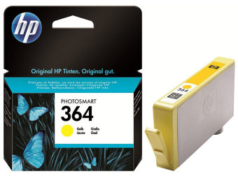 Originálna cartridge HP č. 364Y (CB320EE) (Žltá)